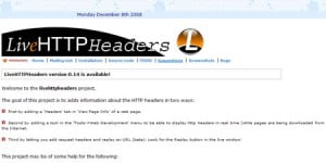 Live HTTP Headers firefox plugin