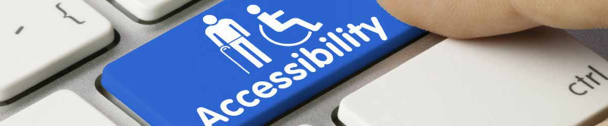 accessible website's