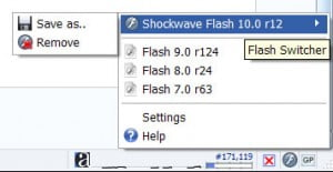 Flash Switcherfirefox plugin