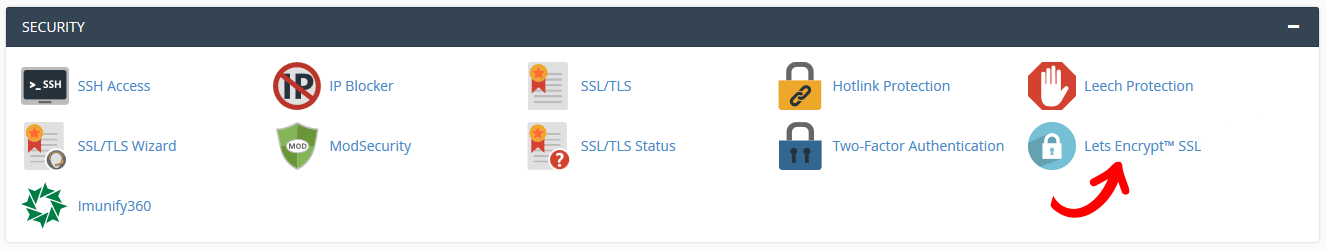 Install Lets Encrypt SSL