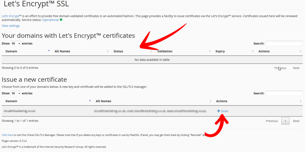 Lets Encrypt SSL Issue SSL